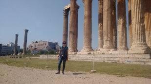 Me and some Greek columns